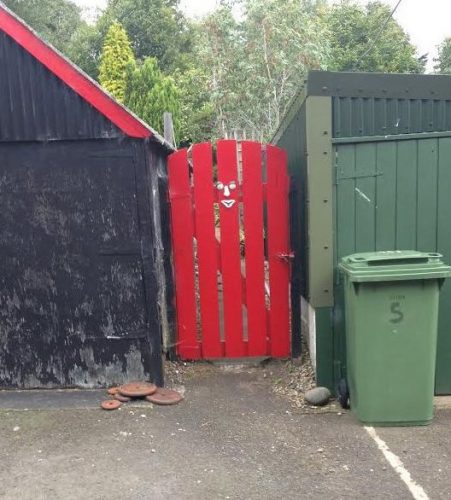 Scary Clown Gate